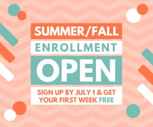 It is time! Enrollment is open.